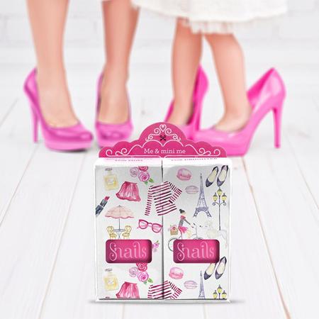 Snails® Set di due smalti Me & Mini Me Pink