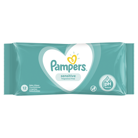Immagine di Pampers® Salviettine umidificate Sensitive 12 pz.