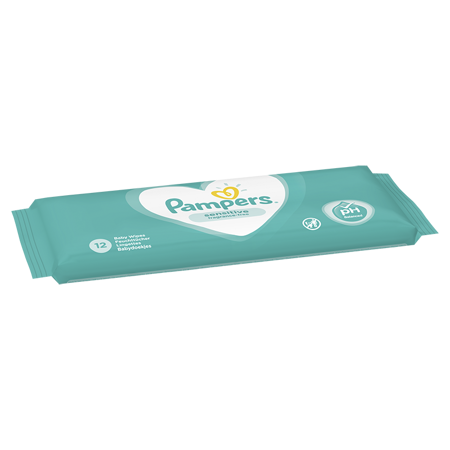 Pampers® Salviettine umidificate Sensitive 12 pz.