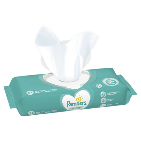 Pampers® Salviettine umidificate Sensitive 52 pz.