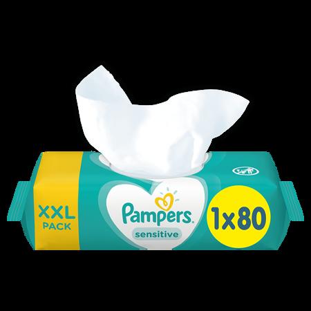 Immagine di Pampers® Salviettine umidificate Sensitive 80 pz.