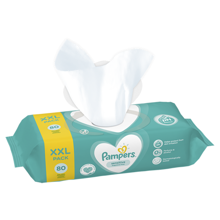 Pampers® Salviettine umidificate Sensitive 80 pz.