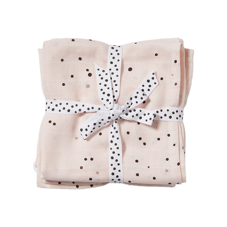 Immagine di Done by Deer® Set  pannolini burp Dreamy Dots Powder 70x70