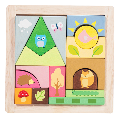Picture of Le Toy Van® Woodland Puzzle Blocks