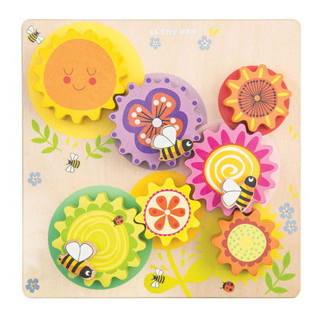 Picture of Le Toy Van® Gears & Cogs 'Busy Bee Learning'
