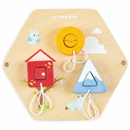 Picture of Le Toy Van® Shapes Activity Tile