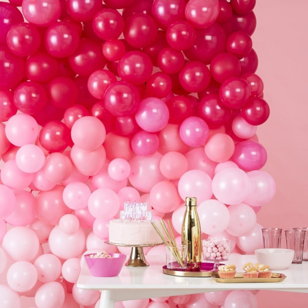 Picture of Ombre Pink Balloon Wall Decoration - Stargazer