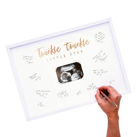Immagine di Ginger Ray® Cornice per le firme Twinkle Twinkle
