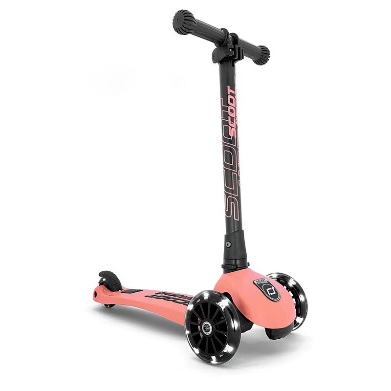 Immagine di Scoot & Ride® Monopattino per bambini Highwaykick 3 Peach LED