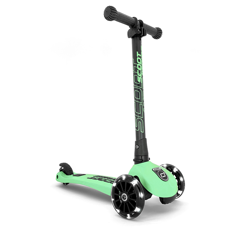 Immagine di Scoot & Ride® Monopattino per bambini Highwaykick 3 Kiwi LED