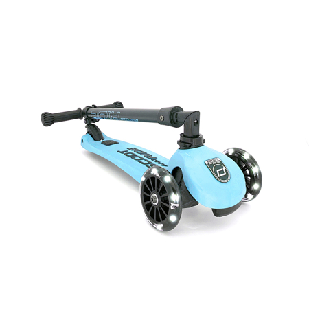 Scoot & Ride® Monopattino per bambini Highwaykick 3 Blueberry LED