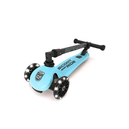 Immagine di Scoot & Ride® Monopattino per bambini Highwaykick 3 Blueberry LED