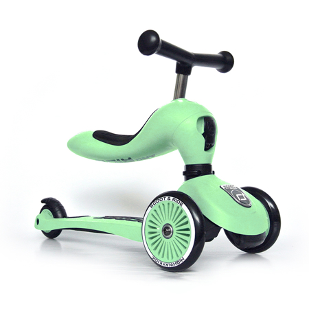 Immagine di Scoot & Ride® Bici senza pedali e monopattino 2 in 1 Highwaykick 1 Kiwi