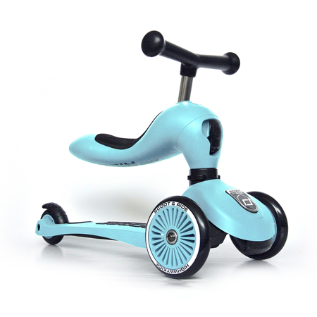 Immagine di Scoot & Ride® Bici senza pedali e monopattino 2 in 1 Highwaykick 1 Blueberry