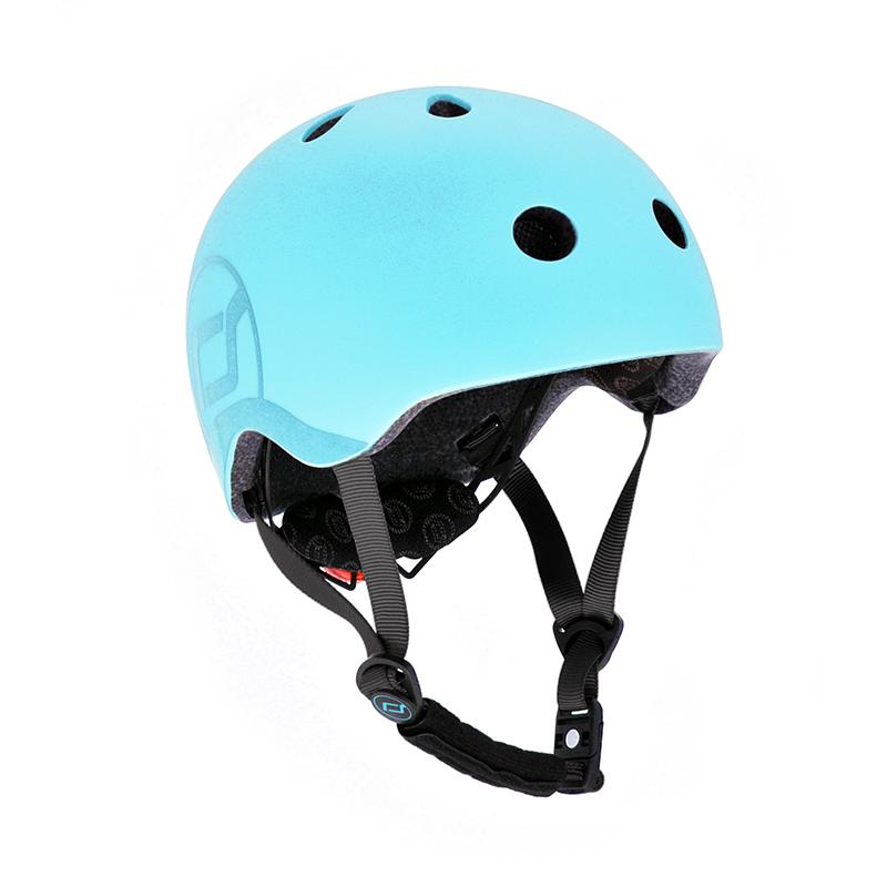 Immagine di Scoot & Ride® Casco per bambini S-M (51-55cm) Blueberry