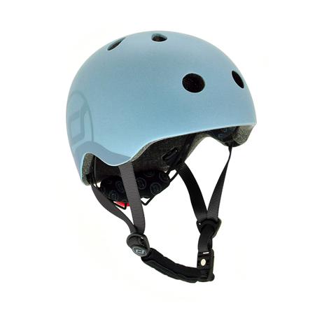 Immagine di Scoot & Ride® Casco per bambini S-M (51-55cm) Steel