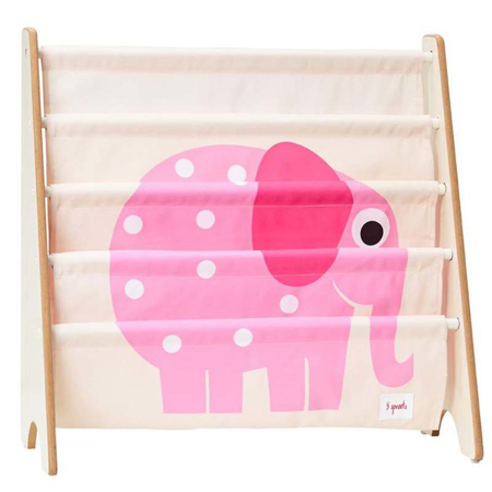 Picture of 3Sprouts®  Book Rack Pink Elefant