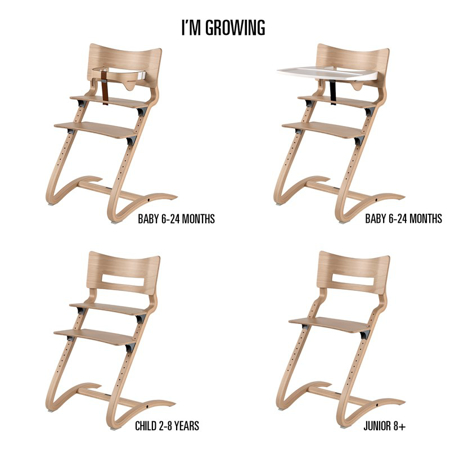 Immagine di Leander® Leander seggiolone High Chair White