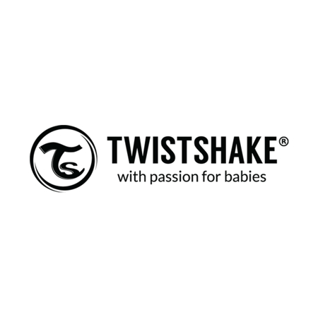 Immagine di Twistshake® Biberon in vetro Anti-Colic 180ml Black