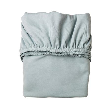 Immagine di Leander® Lenzuola con angoli-per Culla 2 pezzi 79x49 White/Blue