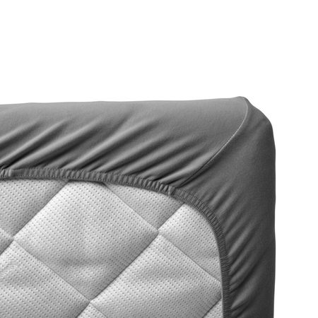 Leander® Lenzuola per il lettino Baby 2 pezzi 60x120 Grey