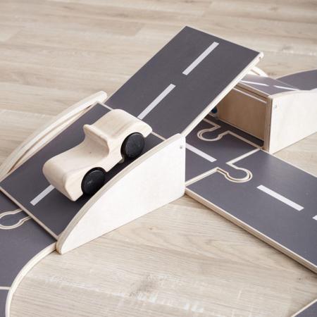 Kids Concept® Pista auto in legno Aiden