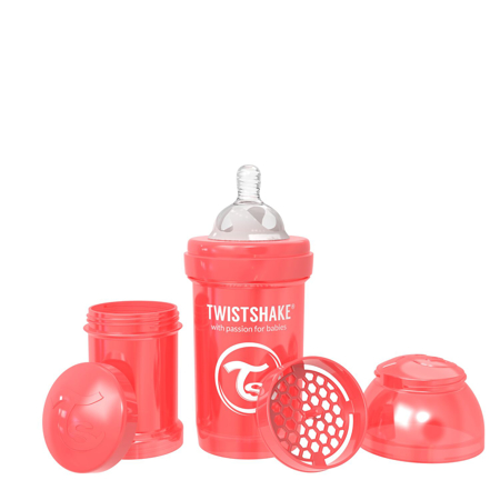 Immagine di Twistshake® Biberon  Anti-Colic 180ml (0+m) Pearl Red