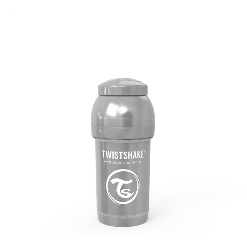 Immagine di Twistshake® Biberon  Anti-Colic 180ml (0+m) Pearl Grey