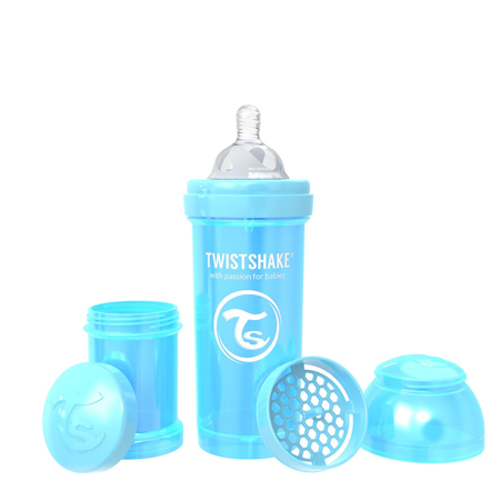 Immagine di Twistshake® Biberon  Anti-Colic 260ml (2+m) Pearl Blue