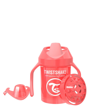 Picture of Twistshake Mini Cup 230ml (4+M) Pearl Red