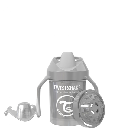 Immagine di Twistshake® Mini Cup 230ml (4+m) Pearl Grey