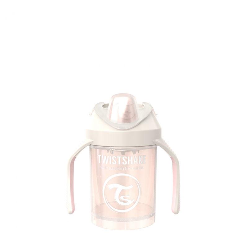 Immagine di Twistshake® Mini Cup 230ml (4+m) Pearl Champagne