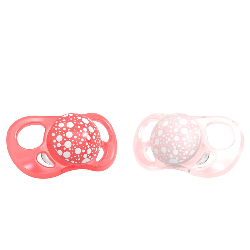 Immagine di Twistshake® 2x Ciucci Pearl Pink&Red (0+/6+) - 6+M