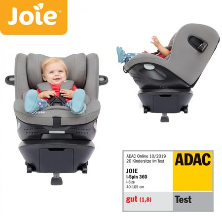 Immagine di Joie® Seggiolino auto i-Spin 360™ i-Size 0+/1 (0-18 kg) Grey Flannel