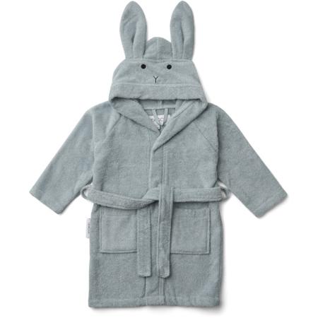 Liewood® Accappatoio Rabbit Sea Blue 1/2 A