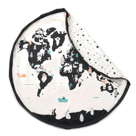 Immagine di Play&Go® Sacco Portagiochi e Tappeto Worldmap/Stars