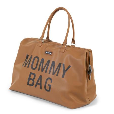 Immagine di Childhome® Borsa fasciatoio Mommy Bag Leatherlook Brown