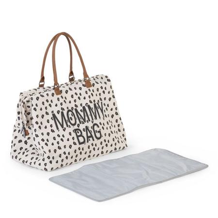 Immagine di Childhome® Borsa fasciatoio Mommy Bag Big Canvas Leopard