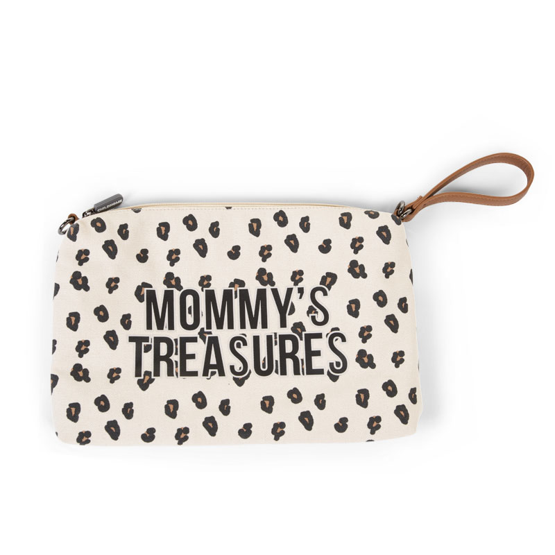 Immagine di Childhome® Beauty case Baby Necessities Canvas Leopard