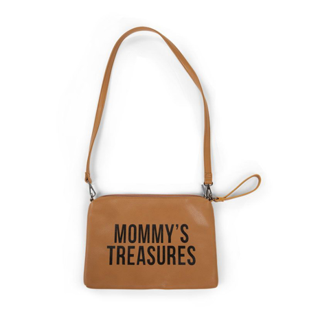 Immagine di Childhome® Beauty case Mommy treasures Leatherlook Brown