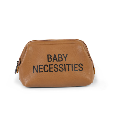 Immagine di Childhome® Beauty case Baby Necessities Leatherlook Brown