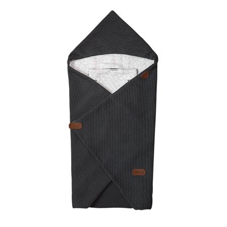 Immagine di Voksi® Coperta per seggiolino e passeggino Dark Grey