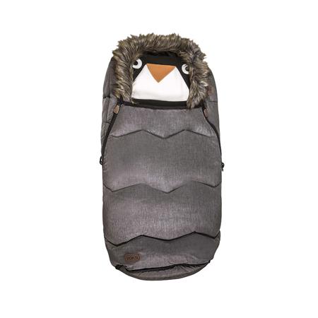 Immagine di Voksi® Sacco Invernale con pelliccia Urban Melange Metallic