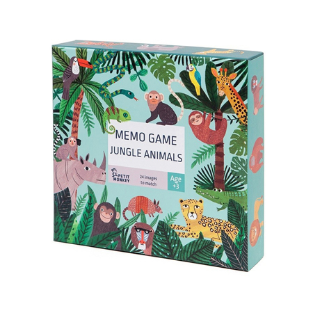 Immagine di Petit Monkey® Memory Jungle Animals
