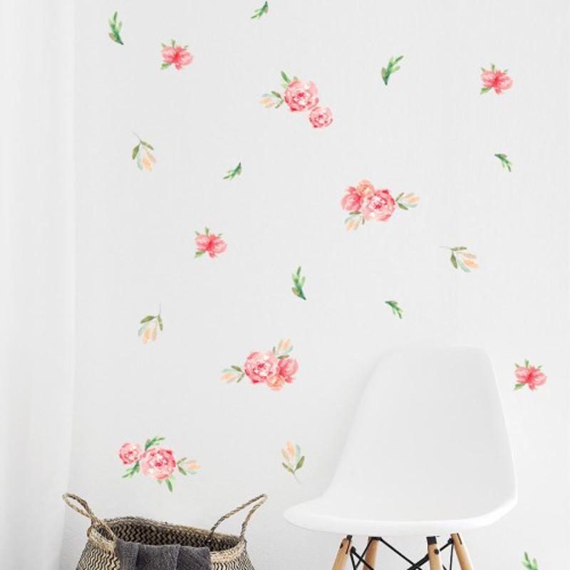 Immagine di Pick Art Design®Adesivo da parete Piccoli fiori