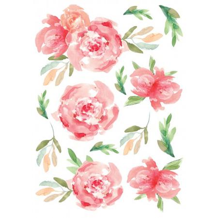 Pick Art Design®Adesivo da parete Piccoli fiori