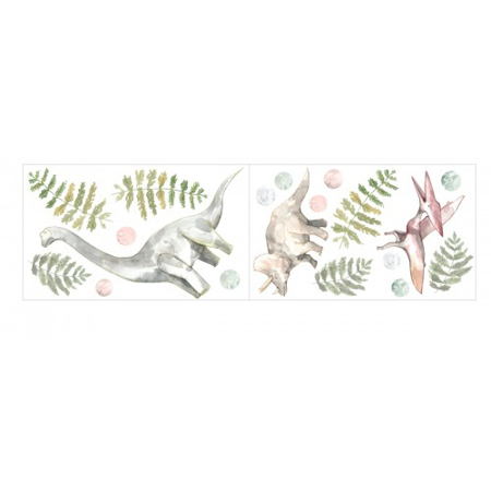 Pick Art Design® Adesivo da parete Dinosauri