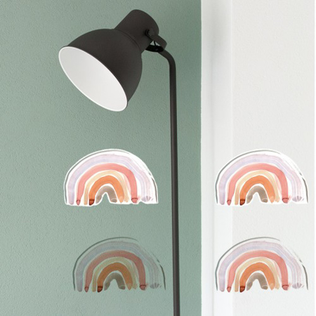 Pick Art Design® Adesivi da parete Arcobaleno