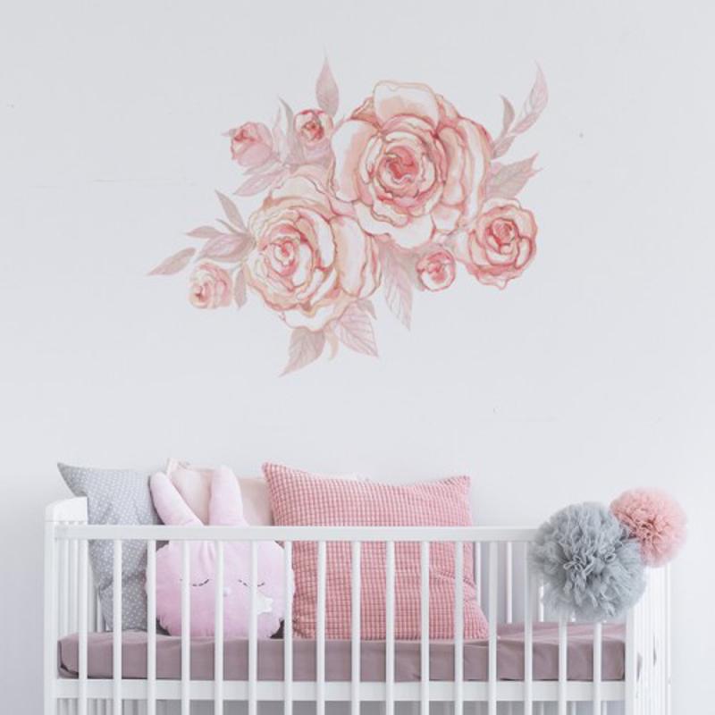 Immagine di Pick Art Design® Adesivo da parete fiore