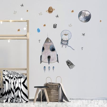 Immagine di Pick Art Design® Adesivi da parete Spazio
